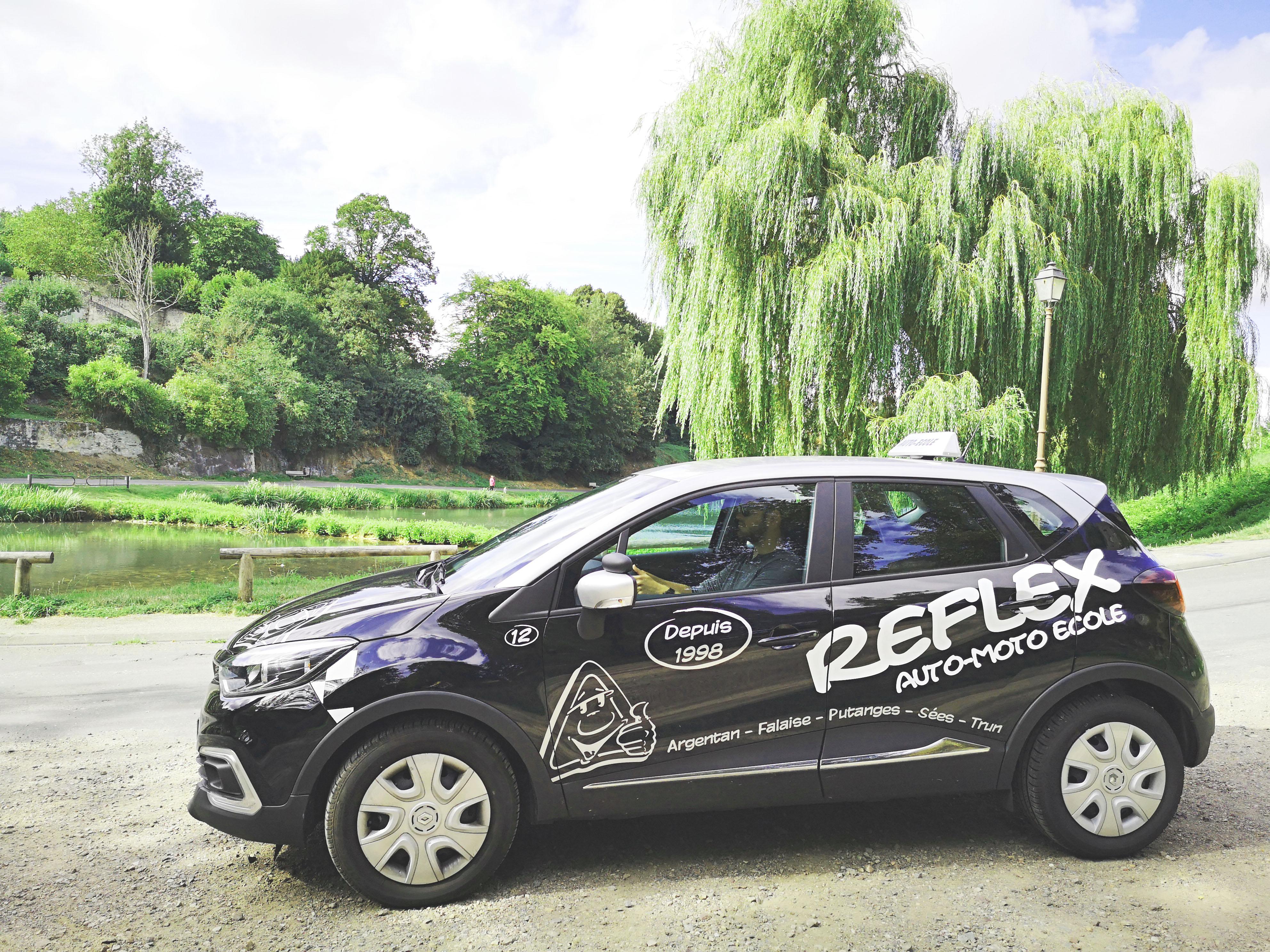 Voiture - Reflex Auto Ecole - Permis B - Conduite Accompagnée