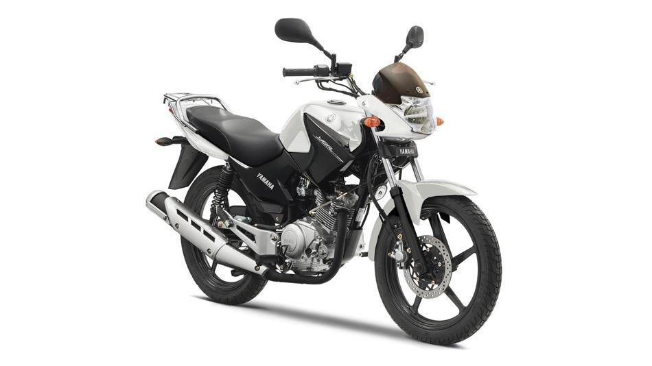 Photo d'une 125 - Yamaha - YBR - Blanche